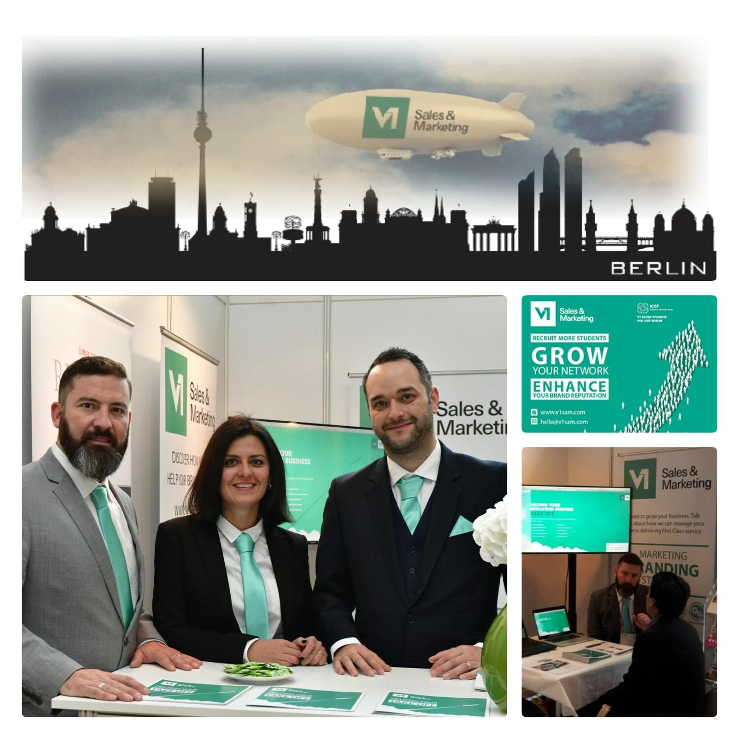 We were recently silver sponsors at ICEF Berlin